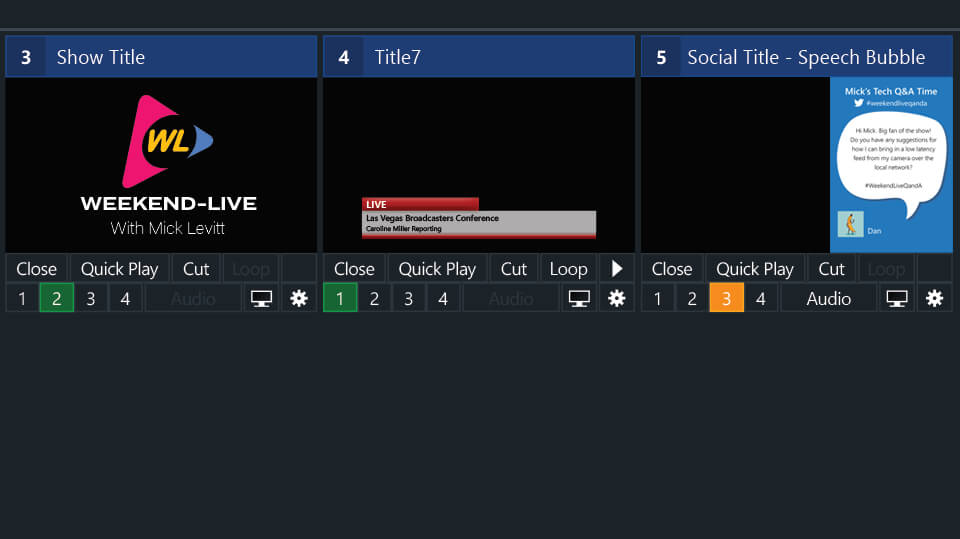 Live Production Software Features | vMix