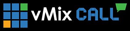 vMix Call Logo - White
