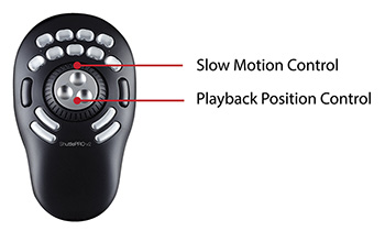 Control all the action with the ShuttlePRO or Keyboard & Mouse
