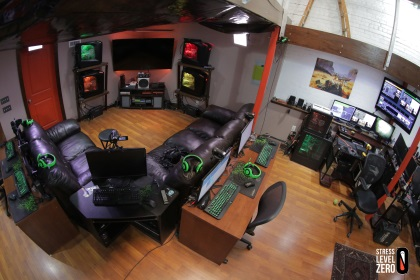Computer Gaming Room Layout