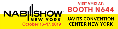 vMix at NAB Show New York 2019