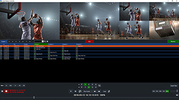 Create highlight reels with music quickly and easily