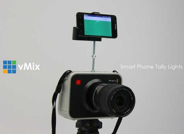 vMix debuts version 11 with new Smart Phone tally lights at Content & Communications World