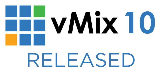 vMix 10 Released