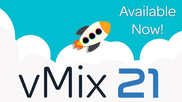 Colour me intrigued! vMix 21 is now officially released.