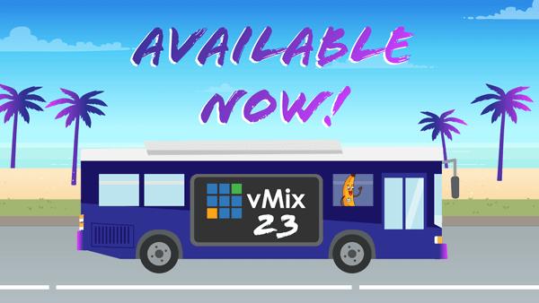 All Aboard vMix 23!