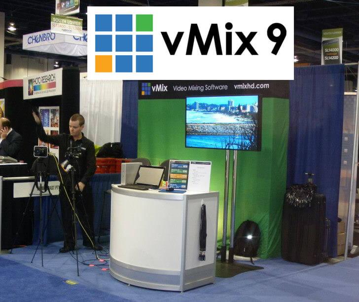 vMix 9 debuts at NAB 2013